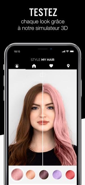 Style My Hair Dans Lu0027App Store