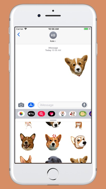 Corgi - cute dog stickers screenshot-3