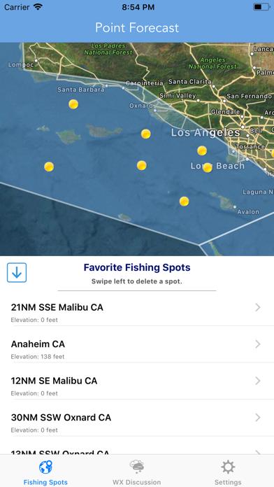 Best Fishing Times Calendar screenshot 1