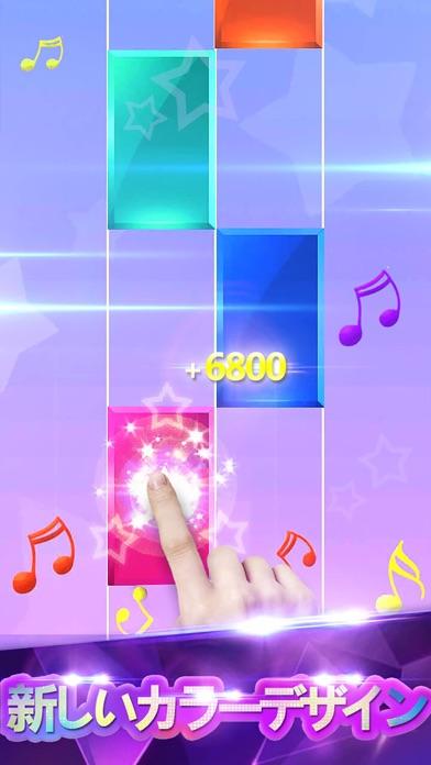 ピアノタイル - リズム音ゲー ゲームのおすすめ画像2
