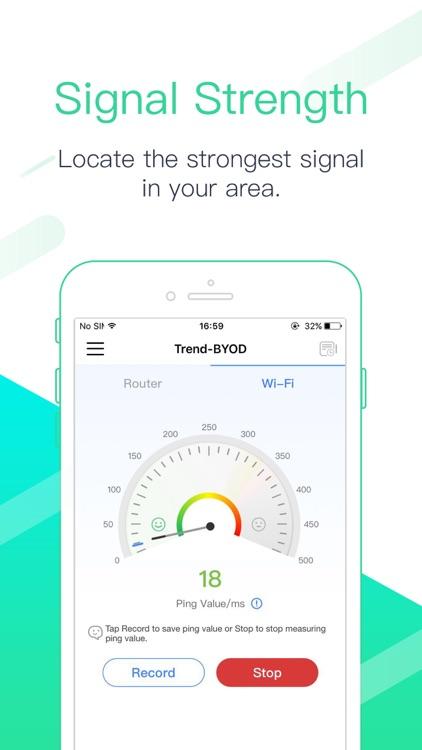 Dr. Wifi: speed & signal test