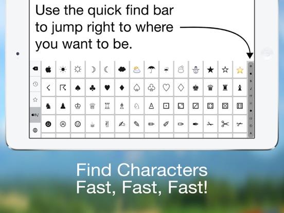 Special Characters++ Screenshots