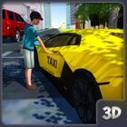 simulador de conducción de tax icon