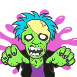 Zombie Stickers Collection