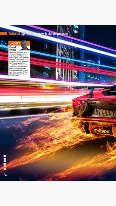 Photoshop Creative Magazine review screenshots