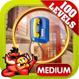 Phone Booth Hidden Object Game