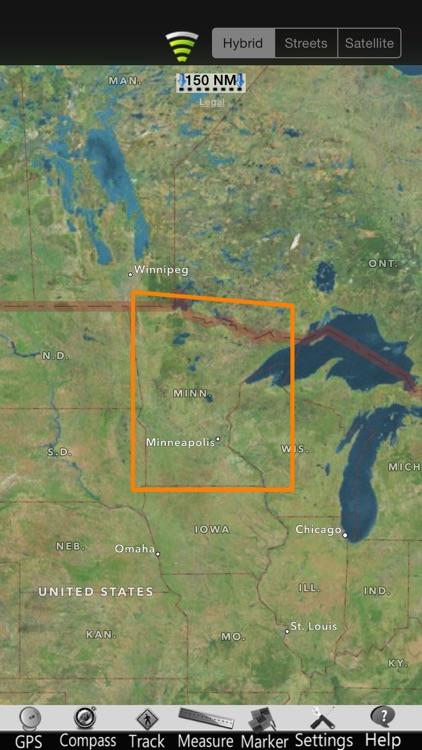 Minnesota Lakes Nautical Chart screenshot-4