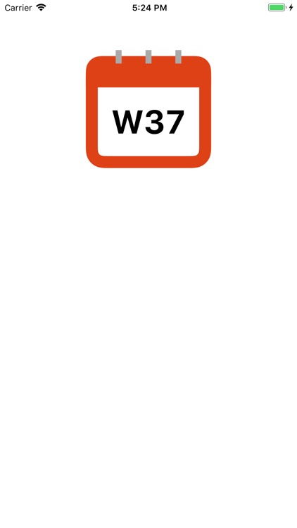 Week Number widget