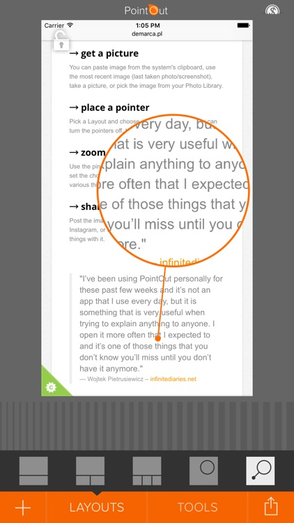 PointOut – show what you mean! screenshot-4