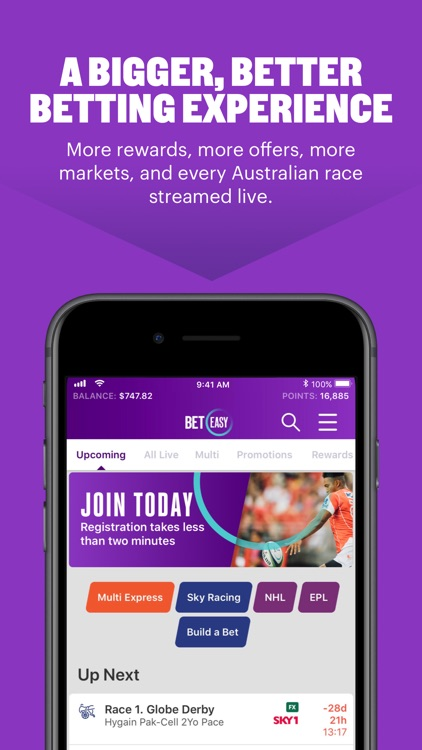 BetEasy – Sports Betting App