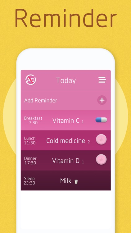 Pill Reminder&Health Record