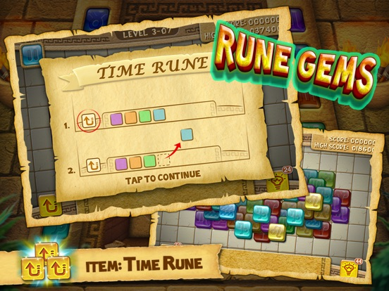 Rune Gems - 3d Solitaire Blast Screenshots