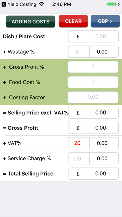 Food Costing (made Simple) review screenshots