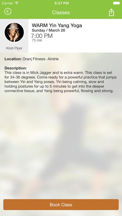 Oranj Fitness screenshot four