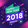 2018 Happy New Year Animated
