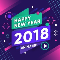 2018 Happy New Year Animated