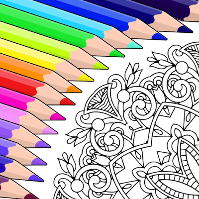 Colorfy: Coloring Book for Adults app
