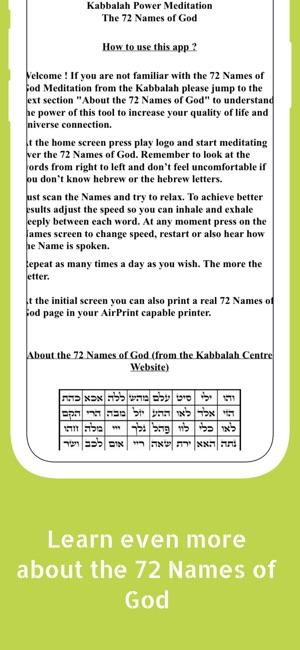 Kabbalah Power Meditation on the App Store