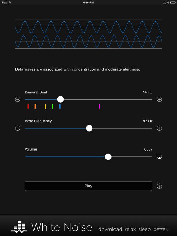 Binaural Beats Generator + screenshot 10