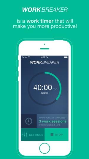 WorkBreaker Screenshot
