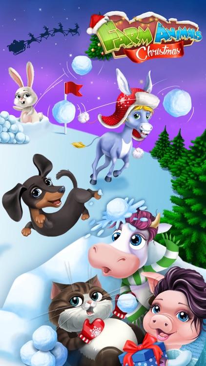 Farm Animals Christmas