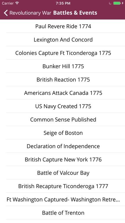 Revolutionary War screenshot-4