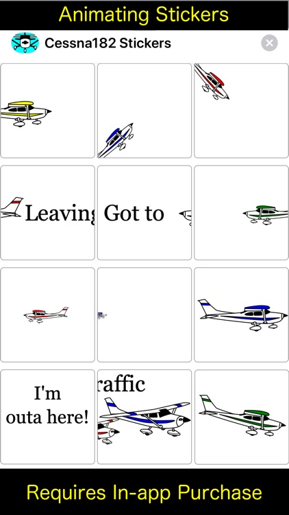 Cessna 182 Sticker App screenshot-3