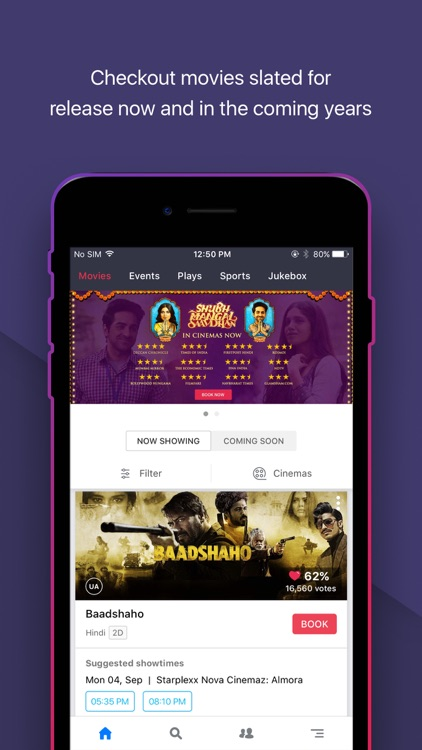 BookMyShow Entertainment
