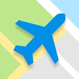 全球旅游地图-中文地图,出国旅游必备神器