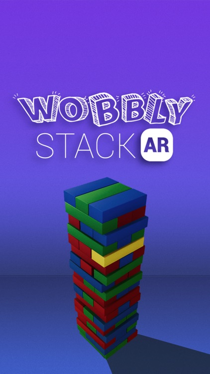 Wobbly Stack AR screenshot-0