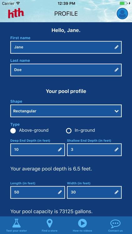 Test to Swim screenshot-4