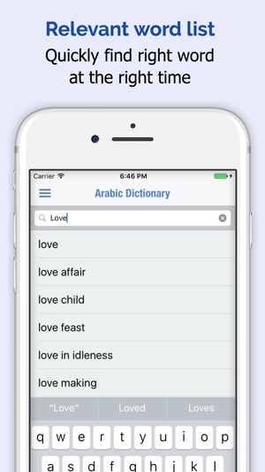 Arabic Dictionary on the App Store