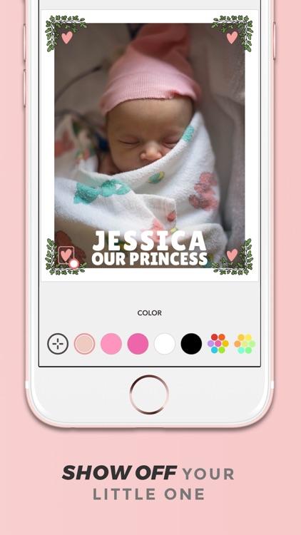 Adorable - Baby Photo Editor screenshot-4