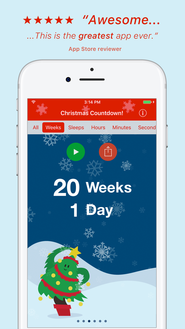 Christmas Countdown! Screenshot