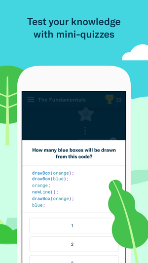 Grasshopper: Learn to Code Screenshot