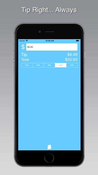 Blue Tip Gratuity Calculator 4