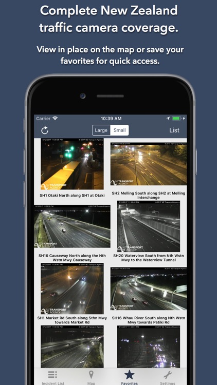 NZ Roads Traffic & Cameras screenshot-3