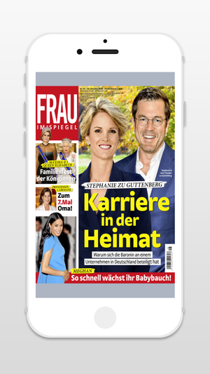 frau im spiegel zeitschrift im app store. Black Bedroom Furniture Sets. Home Design Ideas
