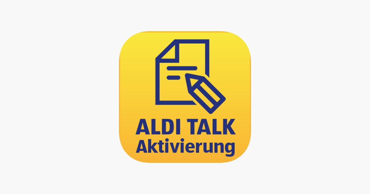 Aldi Talk Aktivierung Im App Store