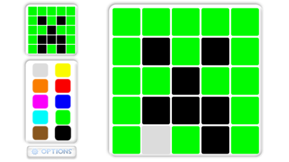 Mosaic puzzles for kids screenshot one