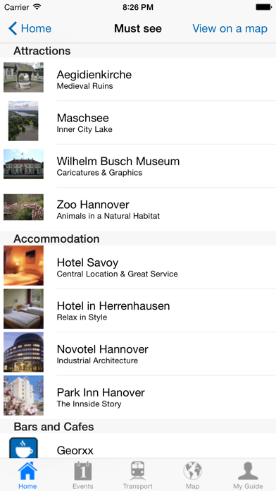 Hanover Travel Guide Offline screenshot four