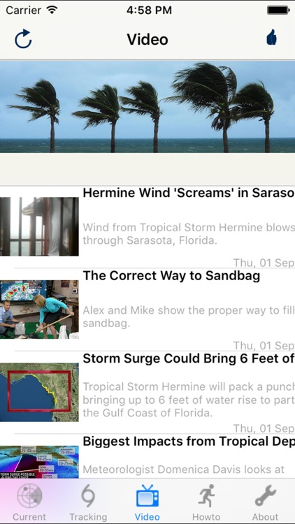Hurricane Track & Outlook screenshot-5