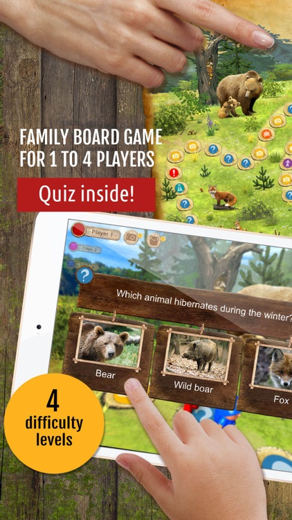 Forest Quest: board game, quiz screenshot-0