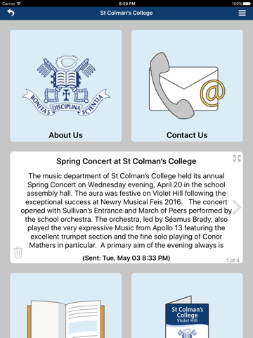 St Colman's College - náhled