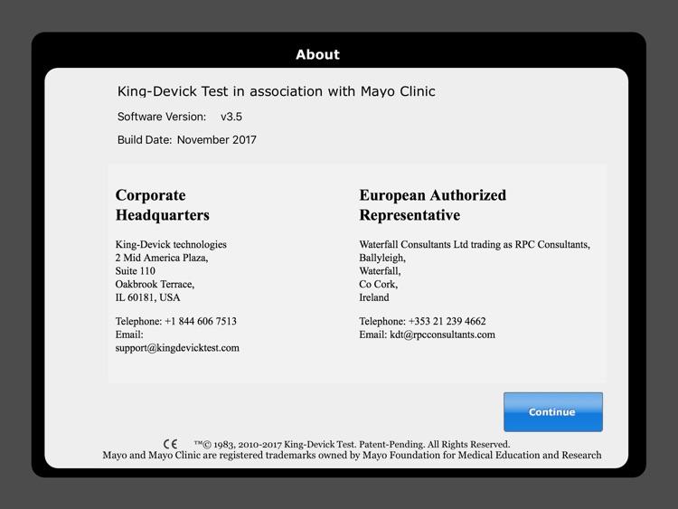 King-Devick Test w Mayo Clinic screenshot-4