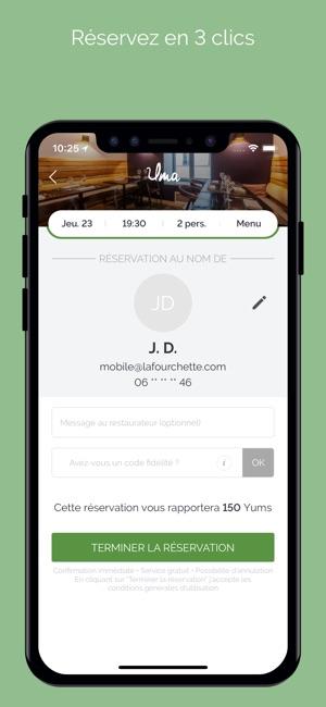 lafourchette restaurants dans l app store. Black Bedroom Furniture Sets. Home Design Ideas