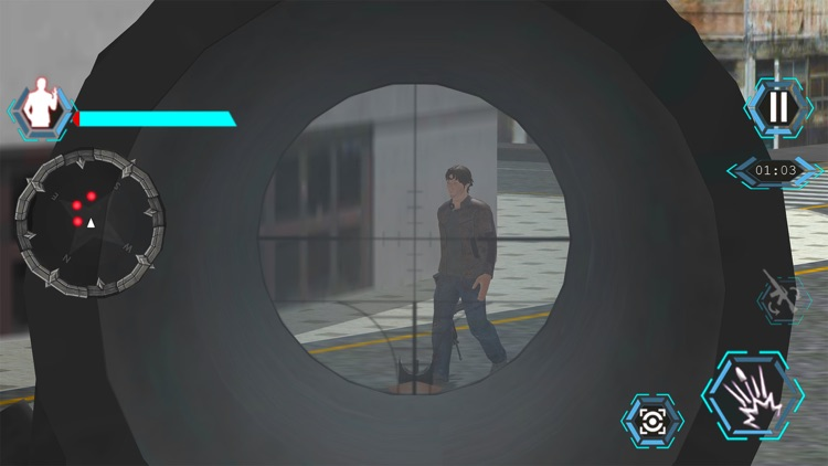 Traffic Sniper Shoot Hunter screenshot-3