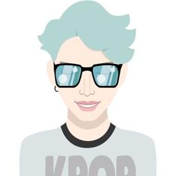 K-Pop Moji - Lead Singers