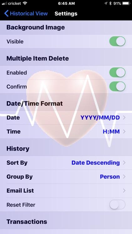 Monitor My BP screenshot-3