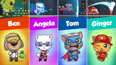 Talking Tom Candy Run Screenshot 3